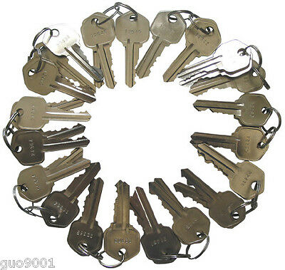 40 Pieces Precut Kwikset 5 pins KW1 Keys locksmith 10 sets of 4 Same Key Alike