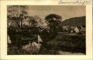 IMMENDINGEN-Baden-Bruecke-Teilansicht-Heimatbeleg-im-Postkarten-Format-1930-40