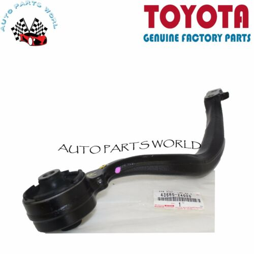 NEW GENUINE OEM LEXUS 02-10 SC430 FRONT RIGHT /& LEFT LOWER CONTROL ARMS SET OF 2