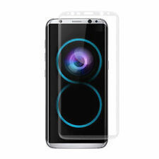 S8 Full Curved 3D Tempered Glass Screen Protector For Samsung Galaxy S8 - CLEAR