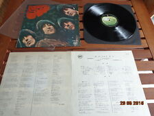 "THE BEATLES ""RUBBER SOUL"" - LP JAPAN + INSERTS -  AP 8156"