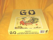 """1982 GO """"Deluxe"""" A Game Of Oriental Strategy Board Game Excellent Condition"""