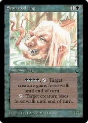 5x Scarwood Hag NM MTG The Dark Magic