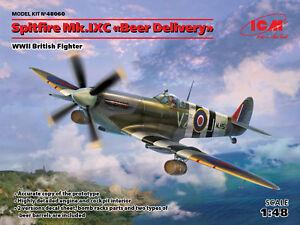 "ICM 1/48 Spitfire Mk.IXC ""Beer Delivery"" WWII British Fighter # 48060"