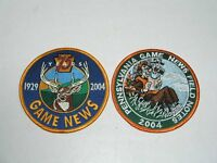 2 Unused 2004 Pa Pennsylvania Game News Patches