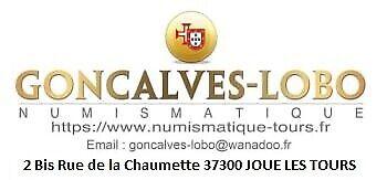 GONCALVES LOBO numismatique