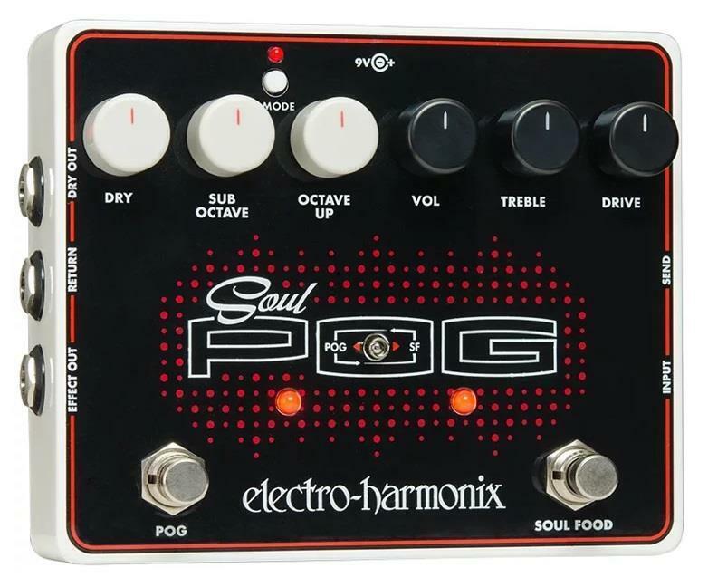 Electro-Harmonix EHX USA Soul Pog Polyphonic Octave Generator Effect Pedal