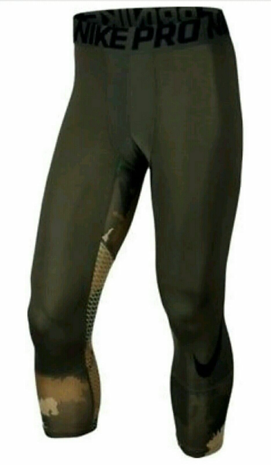 Men/'s Nike Pro Hypercool 3//4 Length Training Tights 811619 687 Size S L M