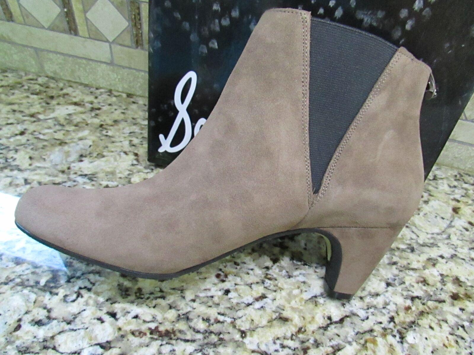 NEW SAM EDELMAN MORILLO SUEDE LEATHER ANKLE avvioIES stivali stivali stivali donna 7.5 1aa817