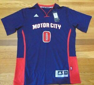 ADIDAS NBA DETROIT PISTONS ANDRE DRUMMOND MOTOR CITY SWINGMAN JERSEY ... f0c632b0d