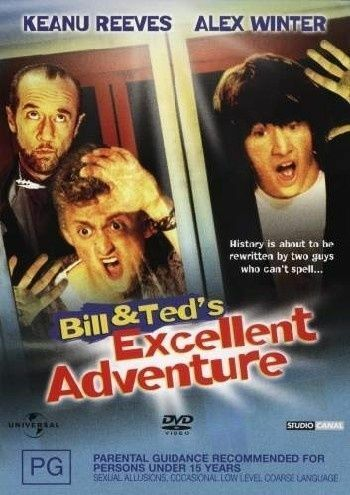 1 of 1 - Bill and Ted's Excellent Adventure DVD NEW
