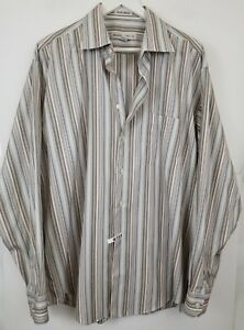 Lot-of-4-PRONTO-UOMO-Mens-Dress-Casual-Shirts-Size-XL-Button-Front
