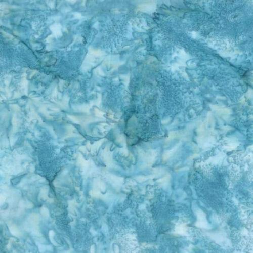 Hoffman 1895 Batik Watercolour Fabric 100/% Cotton  Pool # 464