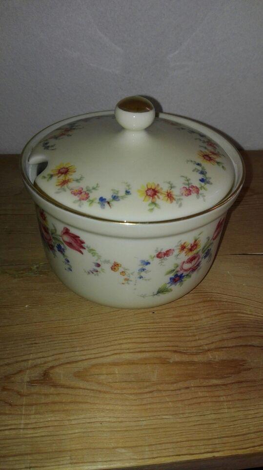 Porcelæn, Tysk marmeladeskål, Edelstein