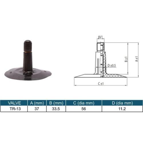20x8.00-1020x10.00-10 Luftschlauch für Reifen TR13 Gummiventil 2 Stück