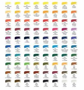 DALER-ROWNEY-Artiste-de-qualite-de-l-039-Eau-Couleur-Peinture-5-ml-Tube-A-Jaune-Rouge-amp-Rose