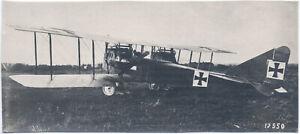 Deutsches-Kriegsflugzeug-mit-Daimler-Motor-Original-Photo-um-1916