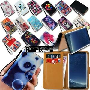 For-Samsung-Galaxy-A-3-5-7-8-9-Leather-Smart-Stand-Wallet-Case-Cover