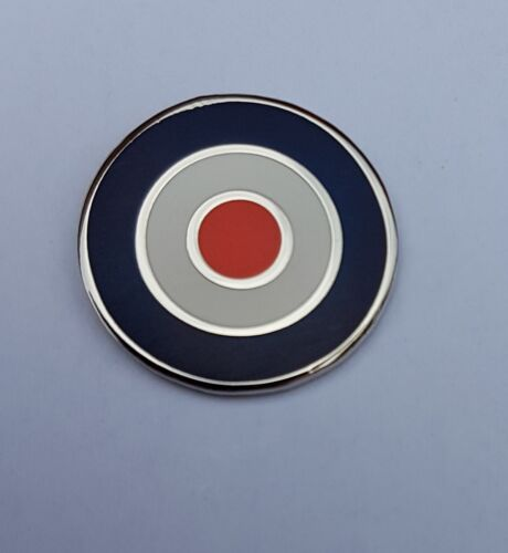 RAF Roundel Small Badge Enamel Pin Badge Scooters Mods SKA Oi!