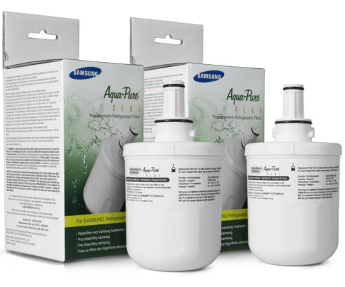 2x Originale DA29-00003F Samsung Filtro Hafin Aqua pure Filtro Acqua Frigorifero