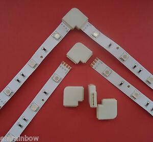 RGB-L-Verbinder-Steck-Eck-Verbinder-Winkel-fuer-RGB-SMD-5050-LED-Strip-Streifen