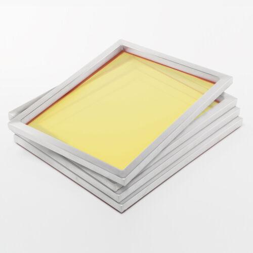 4x 100T Siebdruckrahmen 78x61cm A2+Alu-Rahmen für grafischen SiebdruckSieb