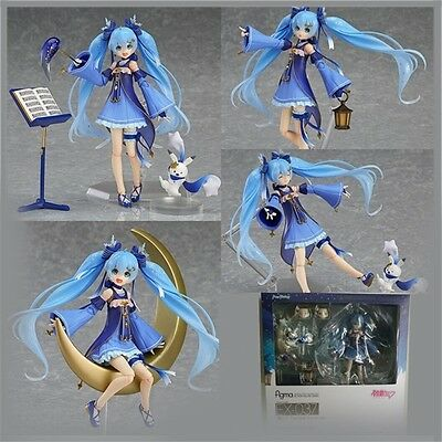 Anime Hatsune Miku Twinkle Snow Ver. Figma EX-037 PVC Figure New In Box