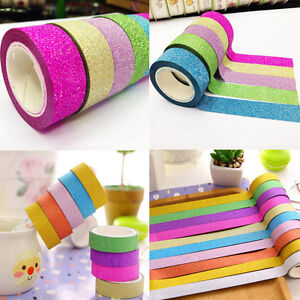 10Pcs-DIY-Cute-Cartoon-Paper-Sticky-Tape-Adhesive-Sticker-Decoration-Washi-Tape