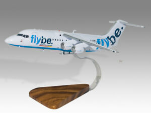 Transportation Collectables Bae 146-300 East-west Solid Kiln Dried Mahogany Wood Handmade Desktop Model