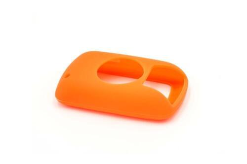 Hülle Case Silikon Fitness Smartwatch Armband orange für Garmin Edge 800 810