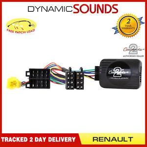 CTSRN004 Steering Stalk Interface Adaptor Lead For RENAULT Twingo 696232643285