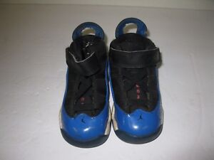 san francisco 739b6 bb1f5 Details about Nike Air Jordan 6 Rings Black Royal Blue White 323420-039  Toddler Size 6C shoes