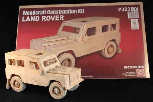 LAND Rover Defender 90 3D in legno modello Replica giocattolo regalo San Valentino non arrugginisce!!!