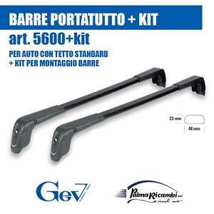 5600 5 dachtr ger gev set f r auto mit dach standard. Black Bedroom Furniture Sets. Home Design Ideas