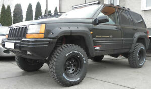 FENDER FLARES EXTENSIONS NEW JEEP GRAND CHEROKEE ZJ 1992-1998 WHEEL ARCH
