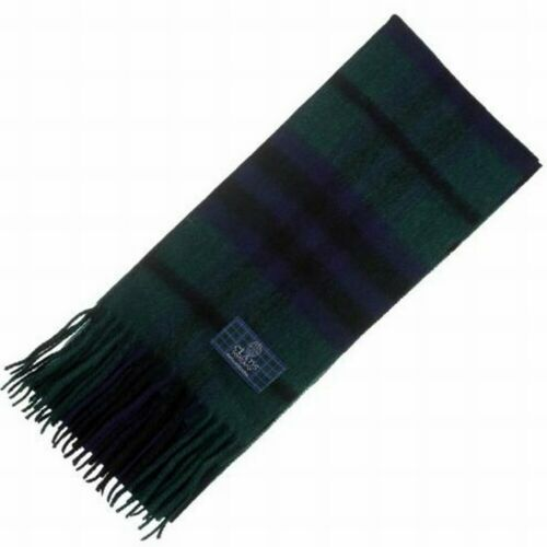 New Long Neck Fashion Keith Modern Tartan Scarf Scottish Wool Clan Scarves