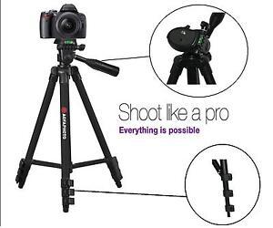 """50 """" Agfaphoto Pro Trépied Pour Panasonic Lumix Dmc-lx100 Dmc-gf7 Dmc-ts6 Prix RéDuctions"""