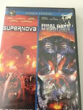 Double Feature DVD Supernova/Final Days On Planet Earth New Sealed