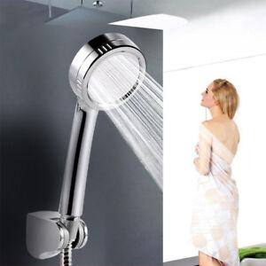 Water Shower Head Super Low Pressure Boosting Bath Saving Pinhole Abs Chrome Jet 711005762946 Ebay