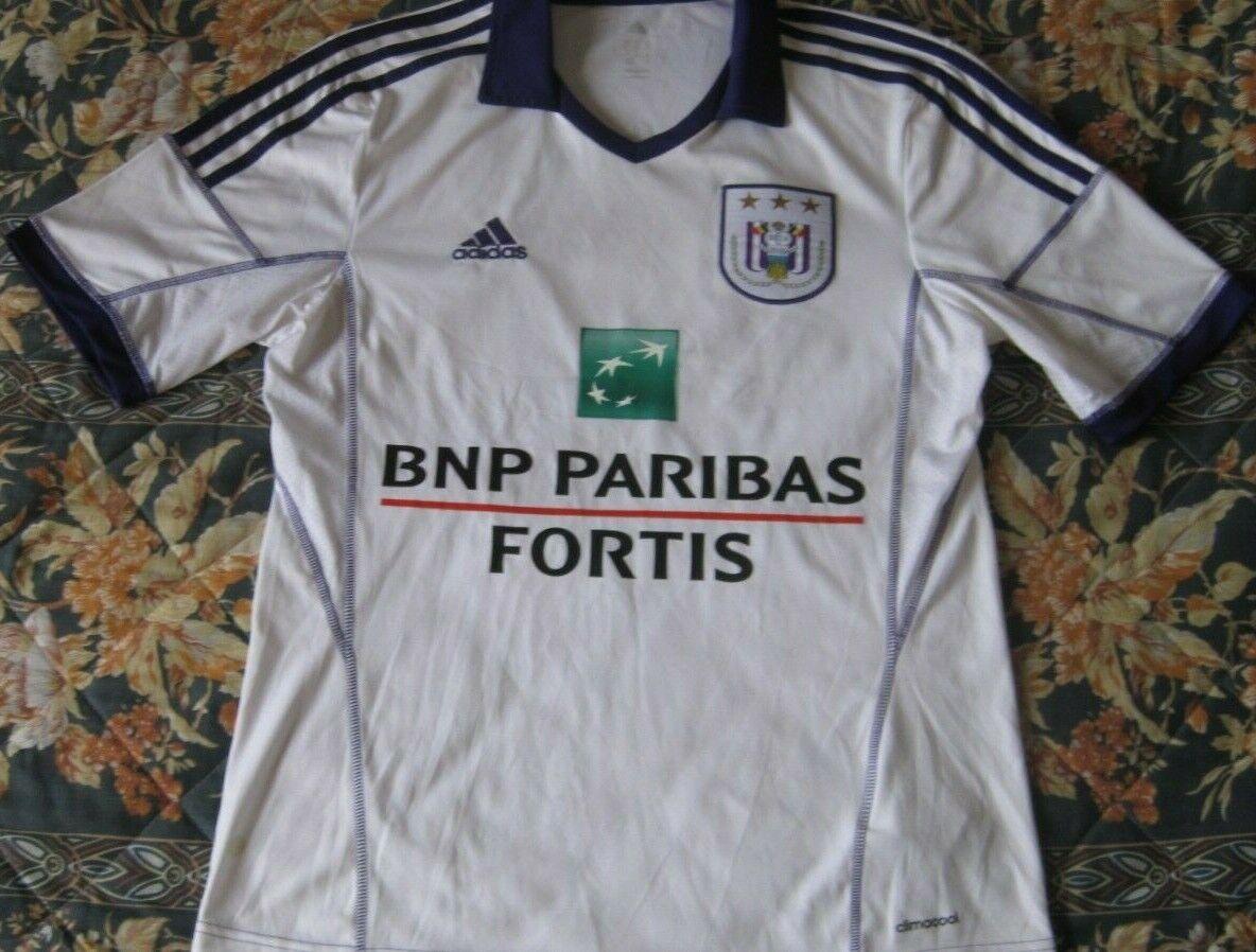 Maillot Trikot Camiseta  Shirt ANDERLECHT 10 PRAET Dennis Season 2013 Talla M  70% de descuento