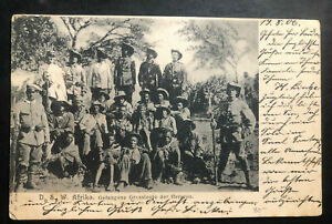 1906 South West Africa Germany RPPC Postcard Cover To Bautzen Prisoners