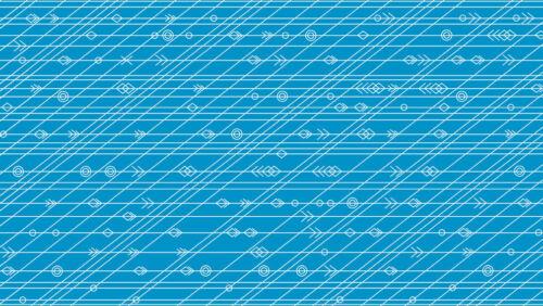 Per 1//4 Metre Makower Fabric Diving Board Latitude in Tide