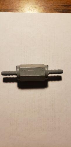 """1//4/"""" Barb Gray PVC Ball Cone Spring Check Valve"""