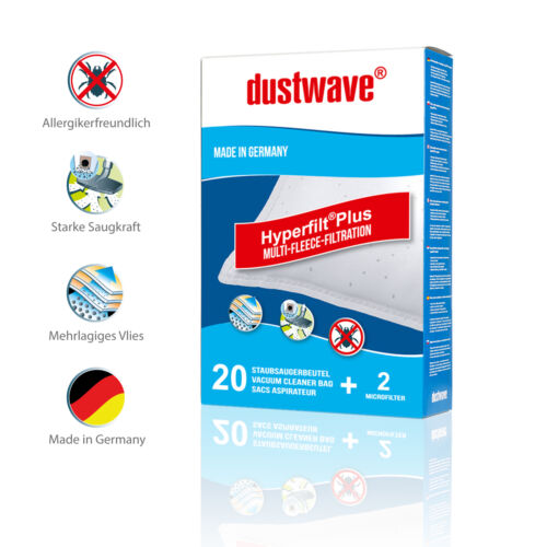 1 Swirl Deo Stick 1-60 Staubsaugerbeutel für PC87//d PC Filtertüten 87
