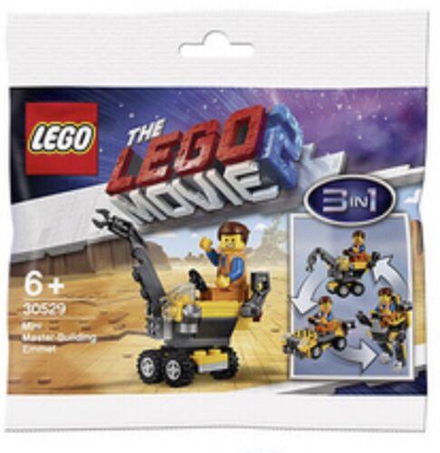 Lego Mini Master Building Emmet 30529 Lego Movie 2 Factory Sealed. Polybag