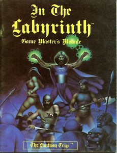 Details about IN THE LABYRINTH GAME MASTERS MODULE METAGAMING RPG EXC!