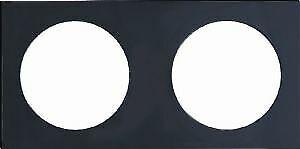 Pure Design Gloss Black Colour Caravan Motorhome Berker Double Frame