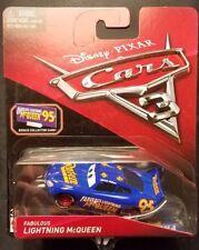 Disney Pixar Cars 3 Fabulous Lightning McQueen Bonus Collector Card Mattel 1 55