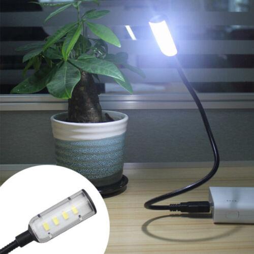 LED Night Light Portable Adjustable USB Lamp Laptop Desk Book Reading Light
