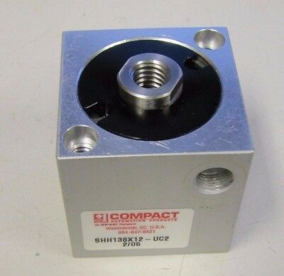 NEW COMPACT AIR PRODUCTS S118X12 1//2IN 1-1//8IN PNEUMATIC CYLINDER